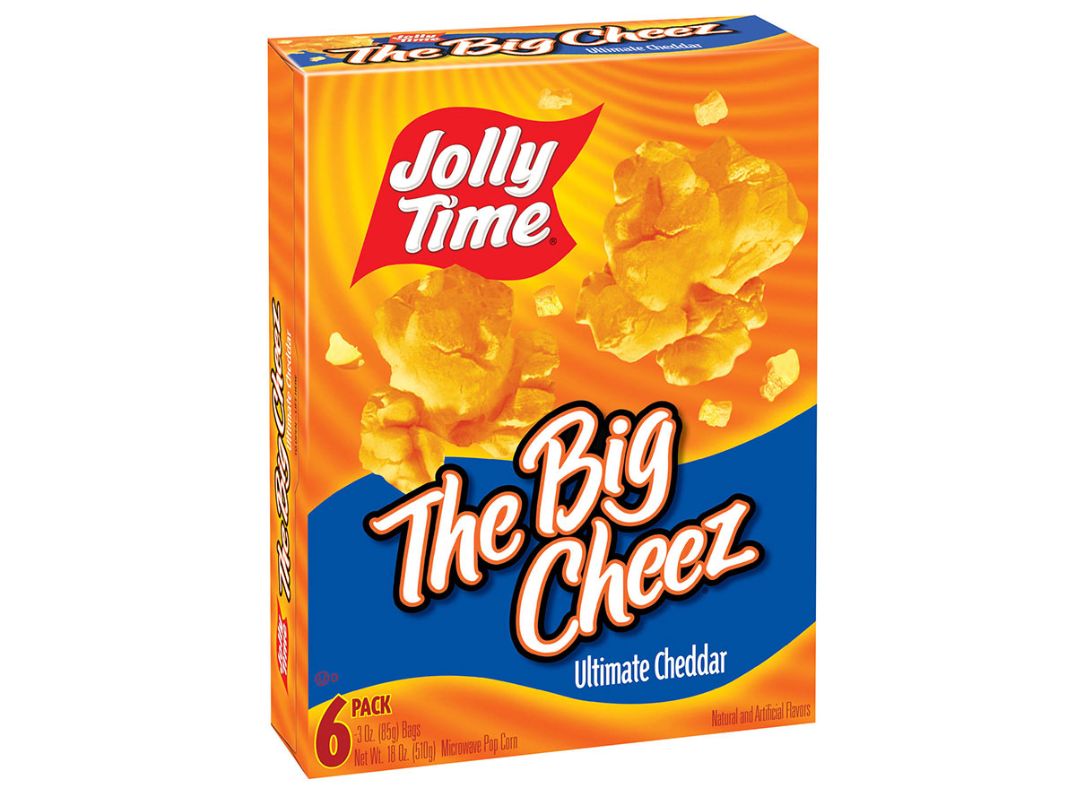 jolly time the big cheez