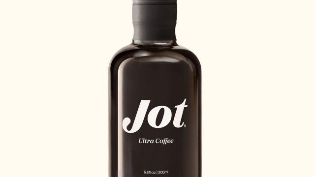 bottle of jot coffee concentrate