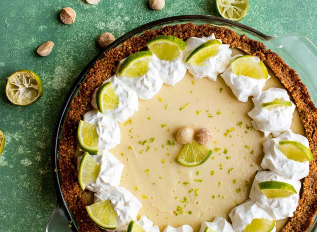 whole key lime pie