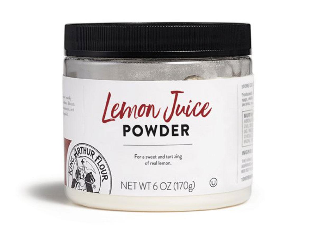 King arthur lemon juice powder