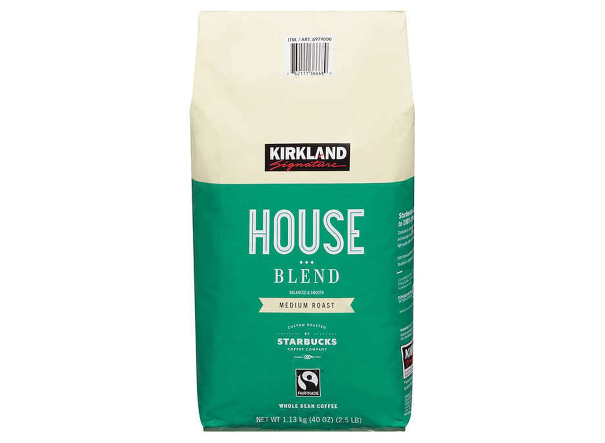 kirkland house blend