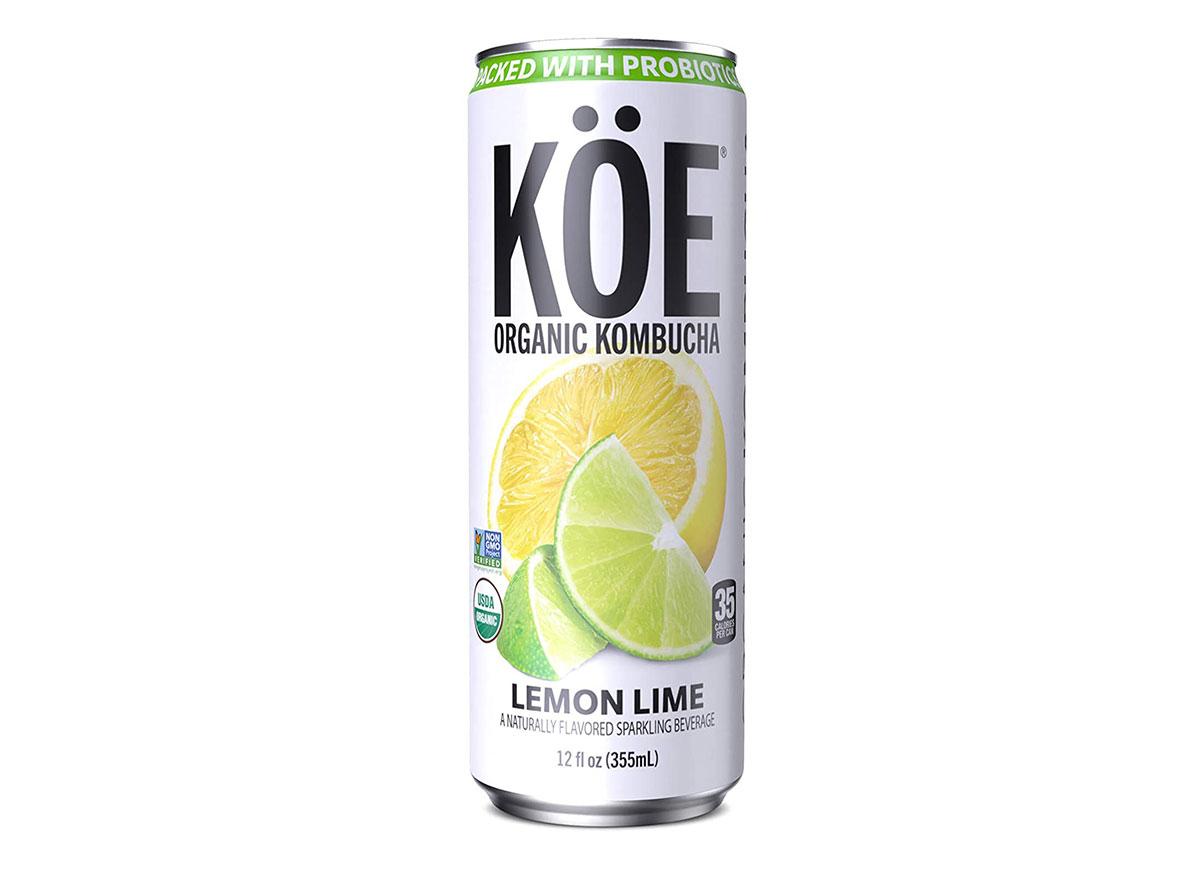 koe lemon lime kombucha