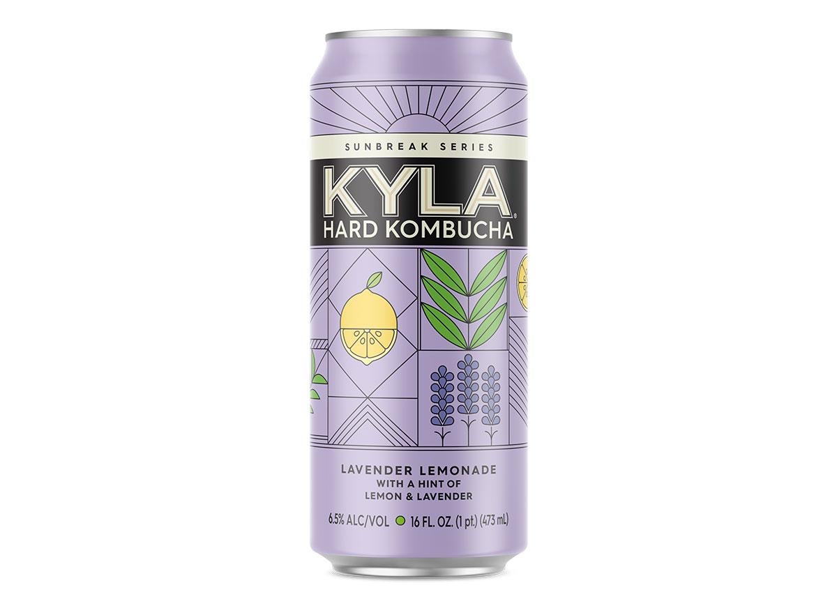 can of kyla sunbreak hard kombucha