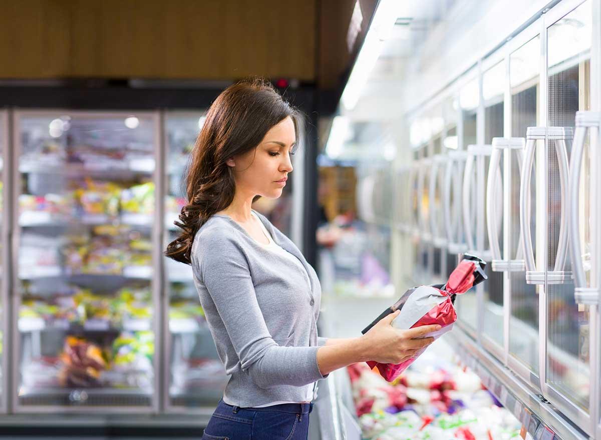 label supermarket