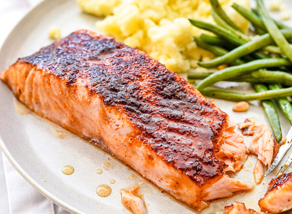 Good Friday recipes maple crusted salmon