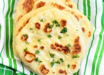 Naan bread recipe from Lil' Luna