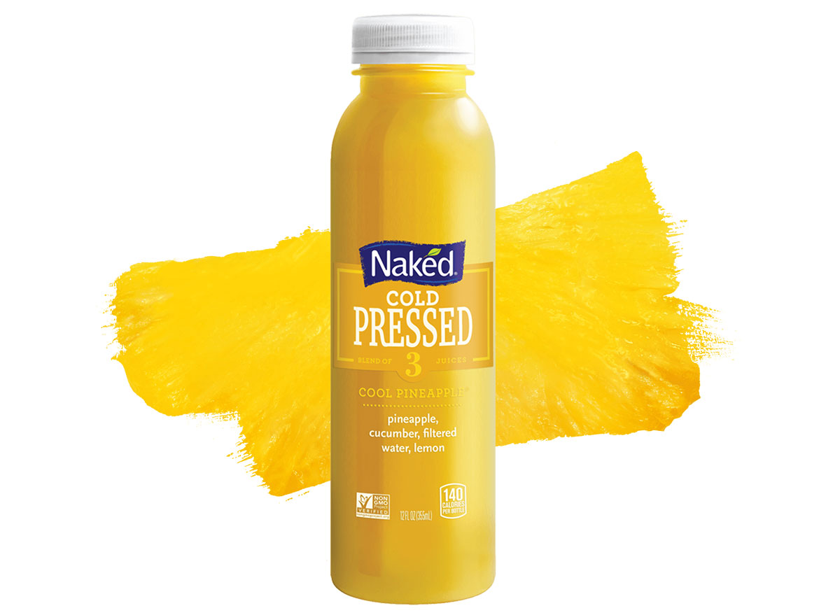 naked cool pineapple