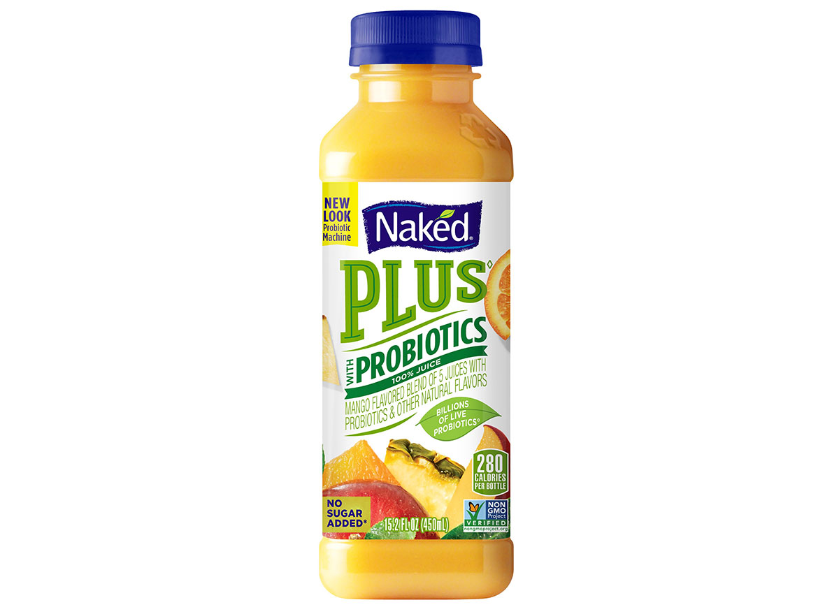 naked probiotic juice