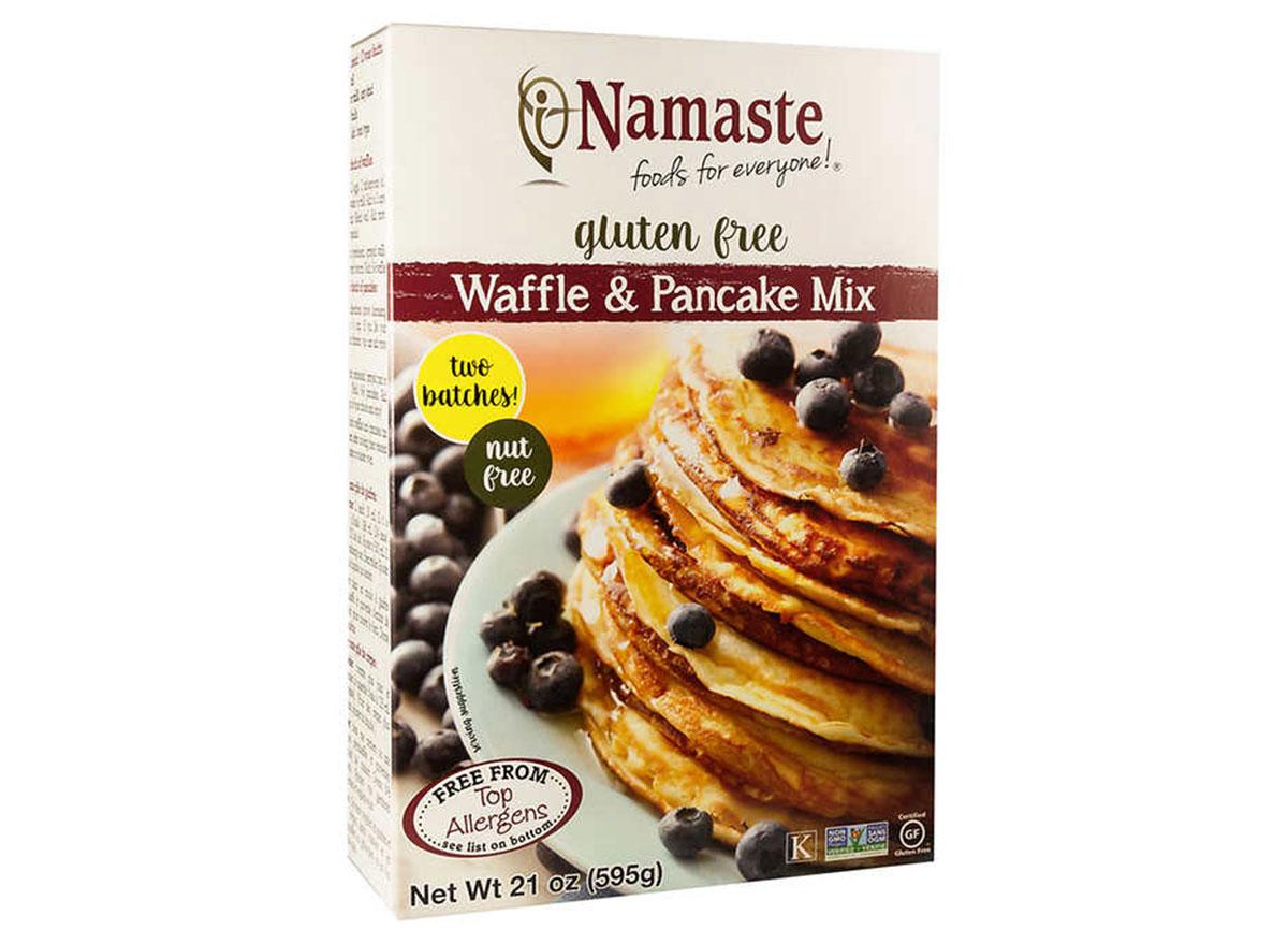 namaste waffle and pancake mix