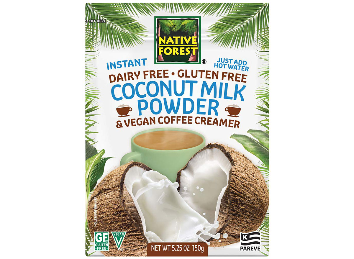 Native forest coconut milk powder