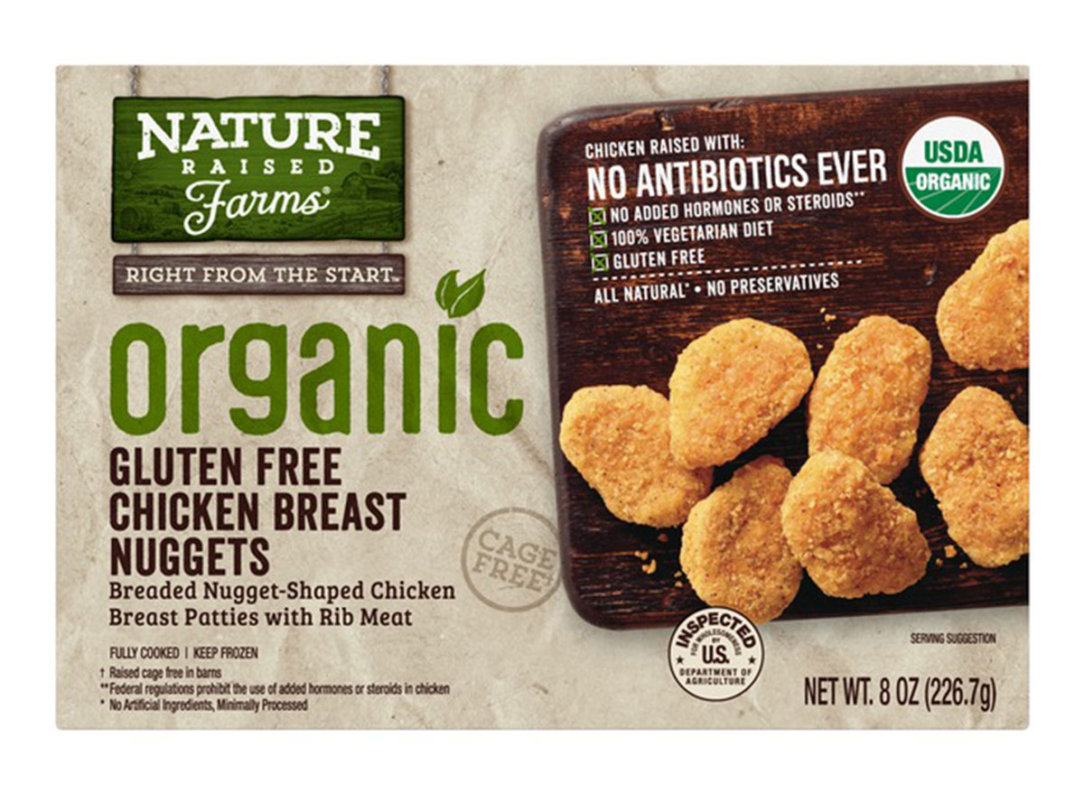 nature raised farms chicken breast nuggets