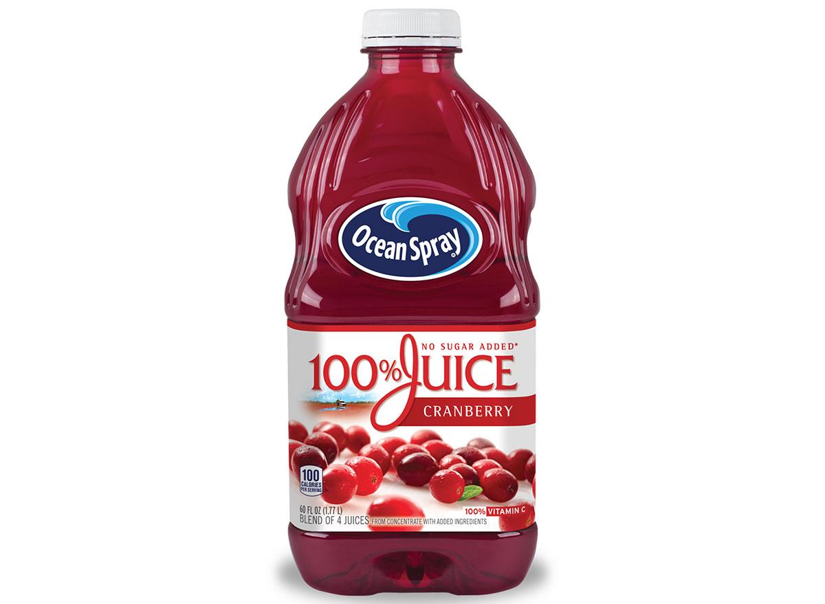 ocean spray cranberry juice