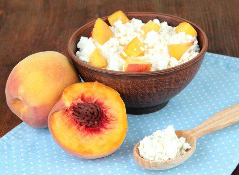 peaches cheese