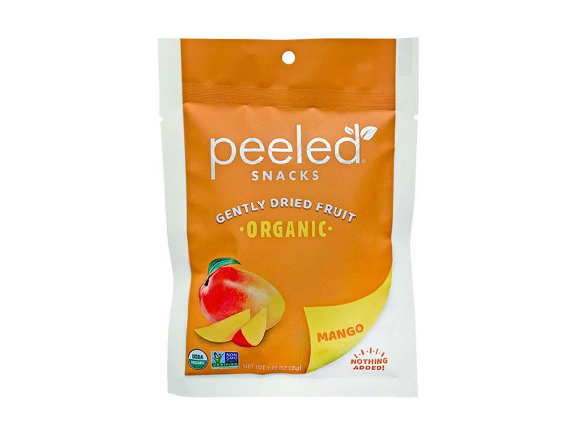 peeled snacks dried mango