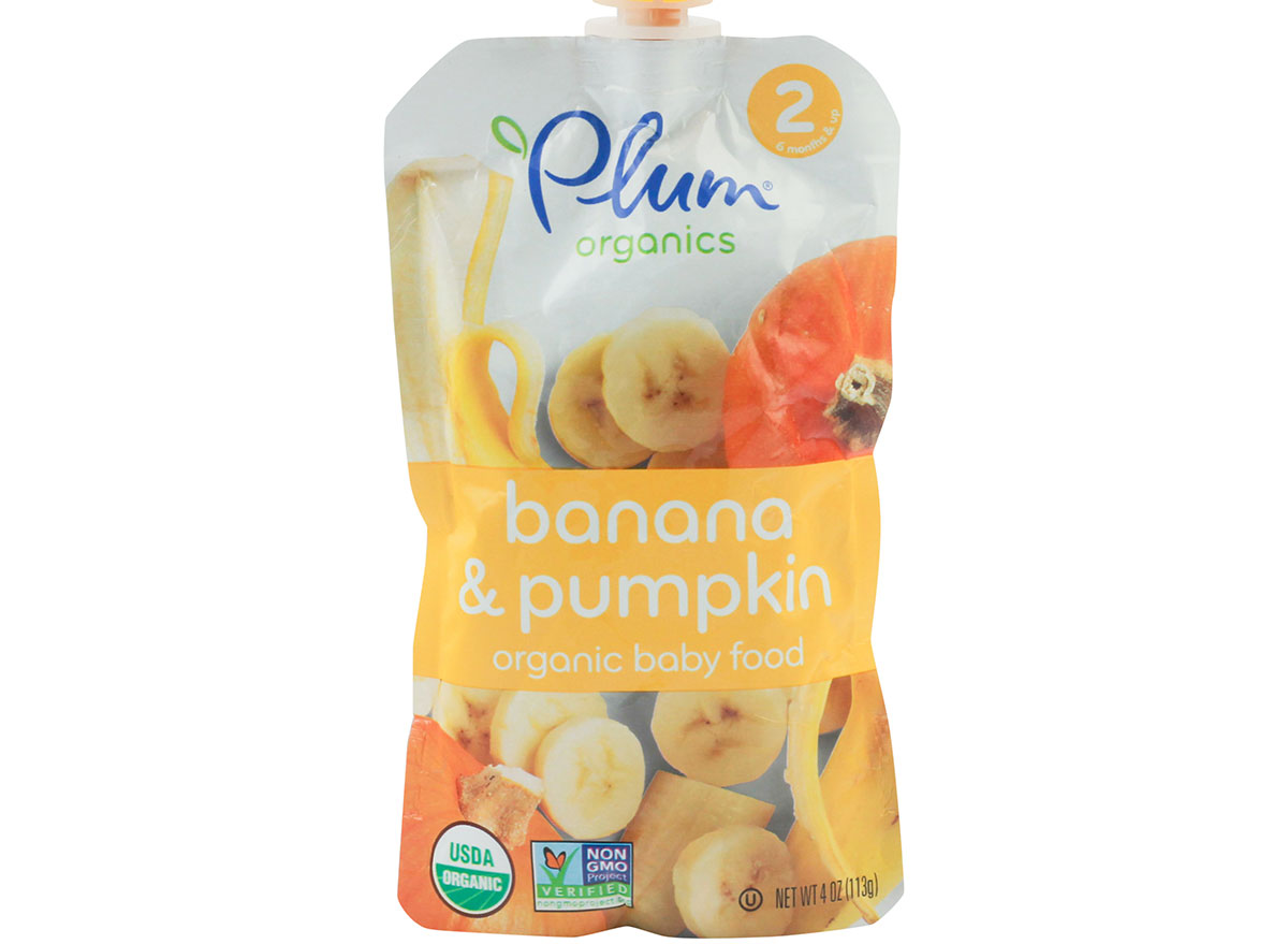 banana and pumpkin baby good