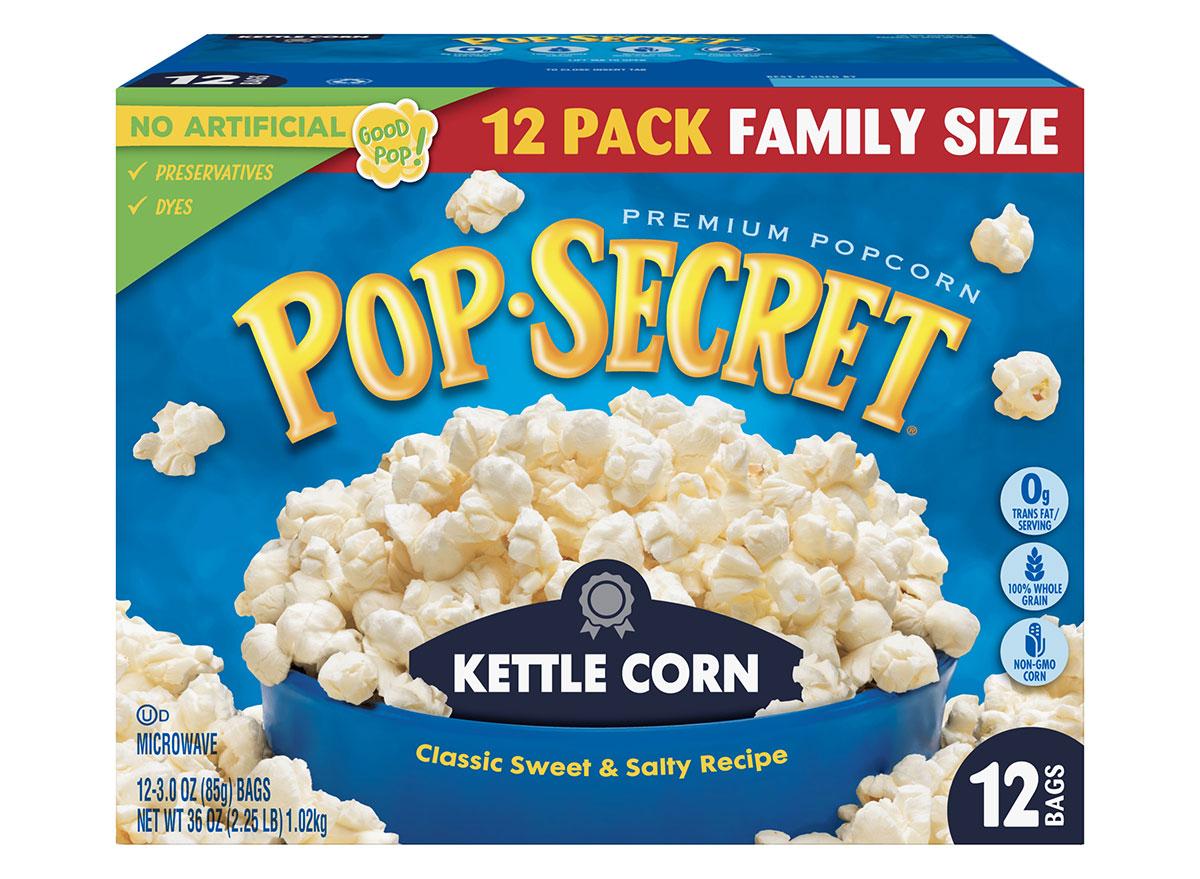 pop secret kettle corn