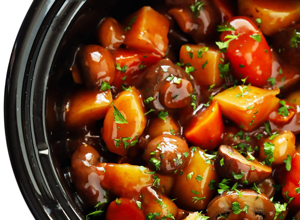 Good Friday recipes portabello pot roast