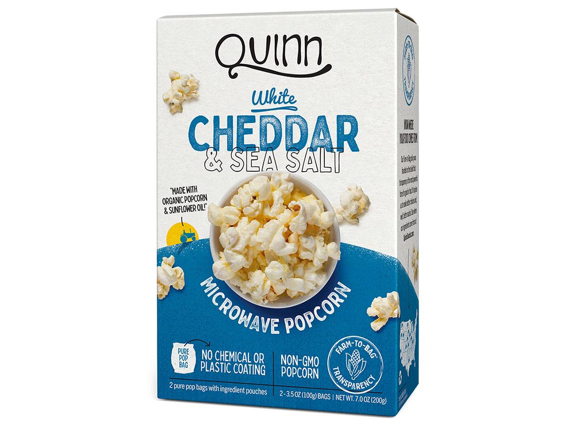 Quinn white cheddar sea salt