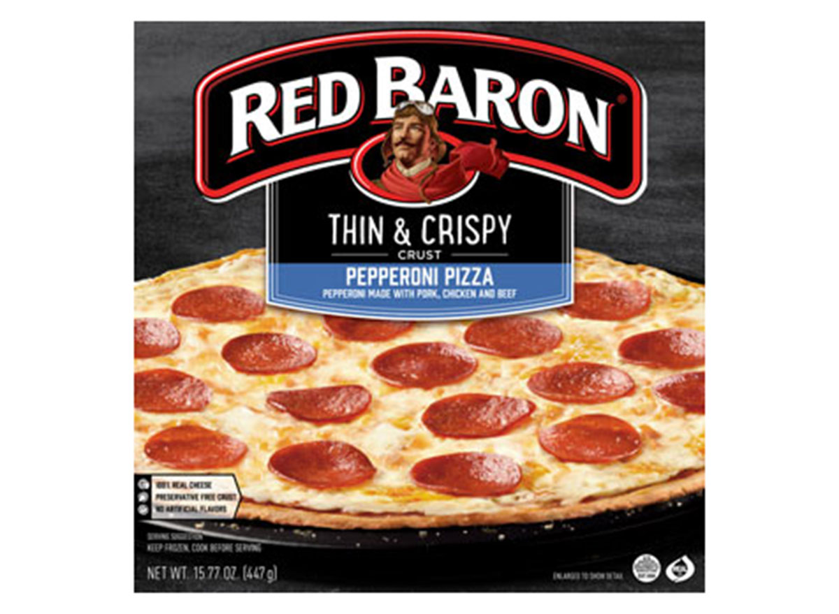 red baron thin crispy