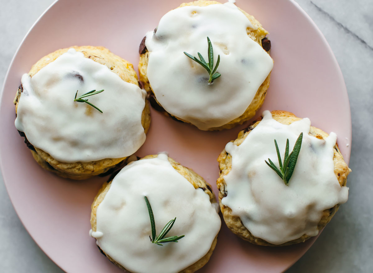 Rosemary and chocolate chip scones recipe from My Name is Yeh