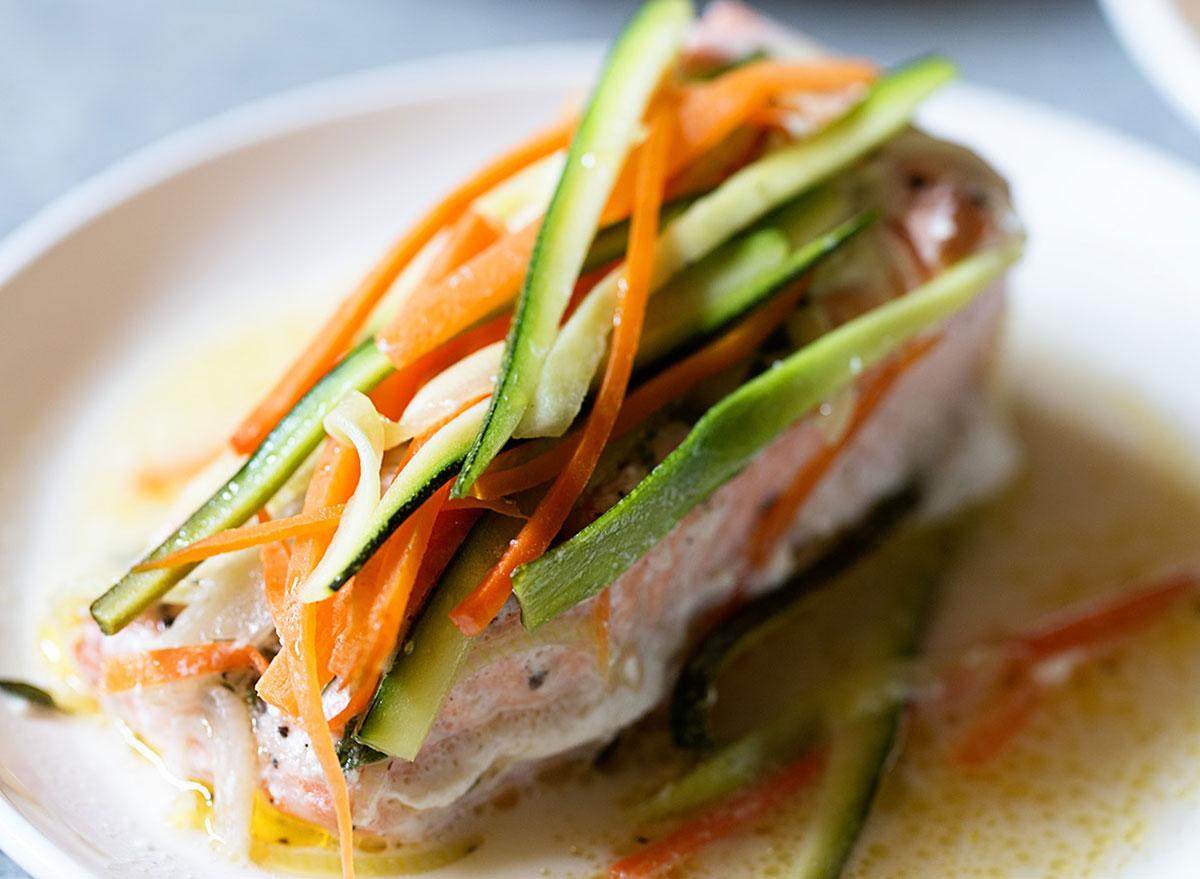 Good Friday recipes salmon veggies