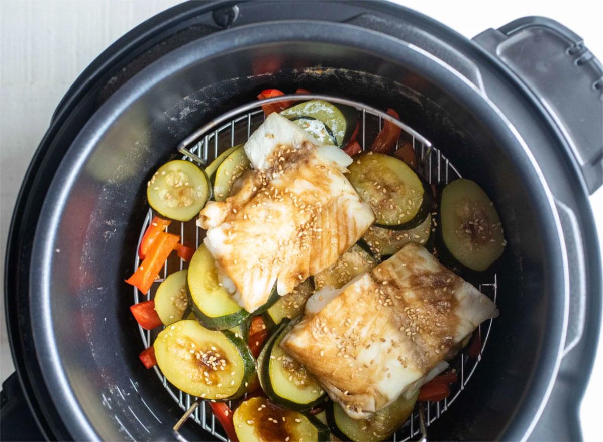 Good Friday recipes sesame cod