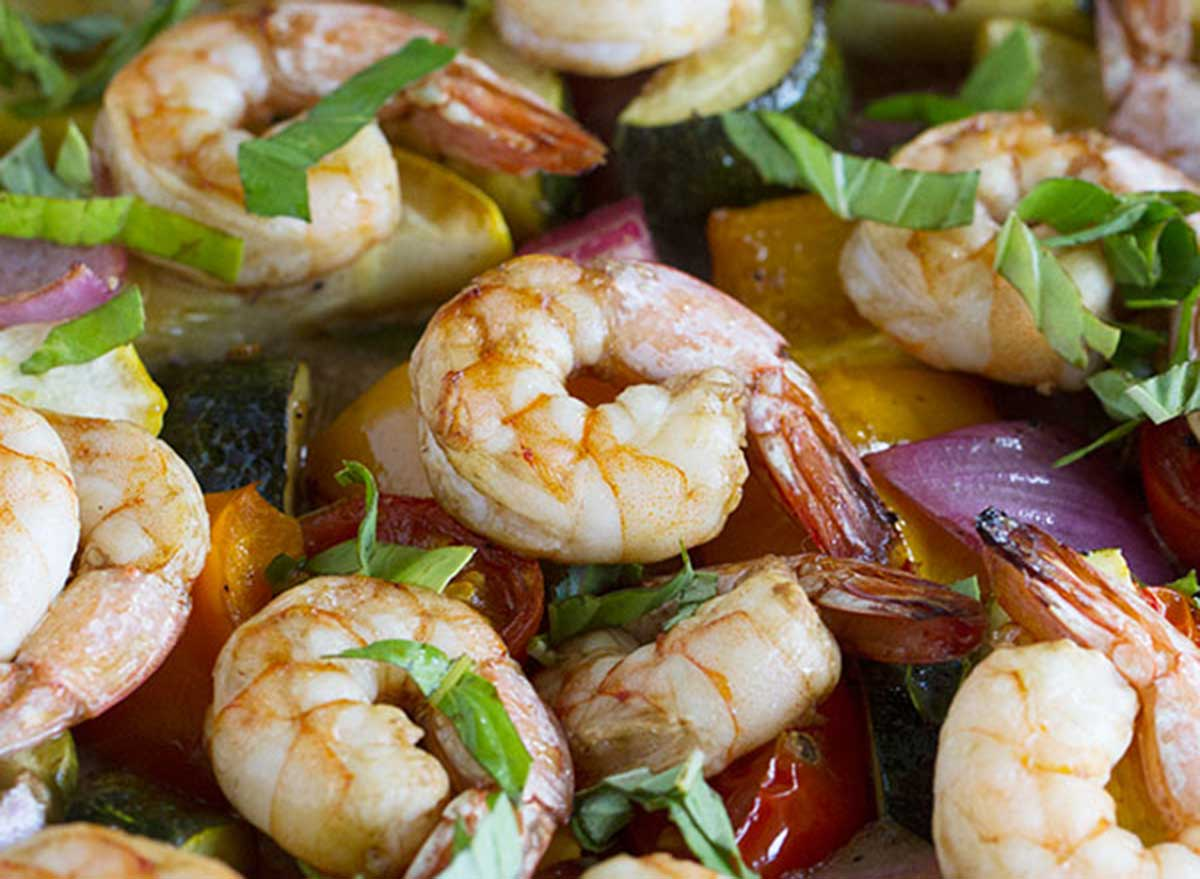 shrimp summer veggies