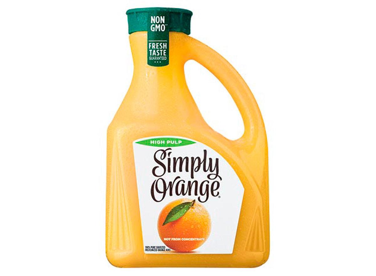 simply orange high pulp