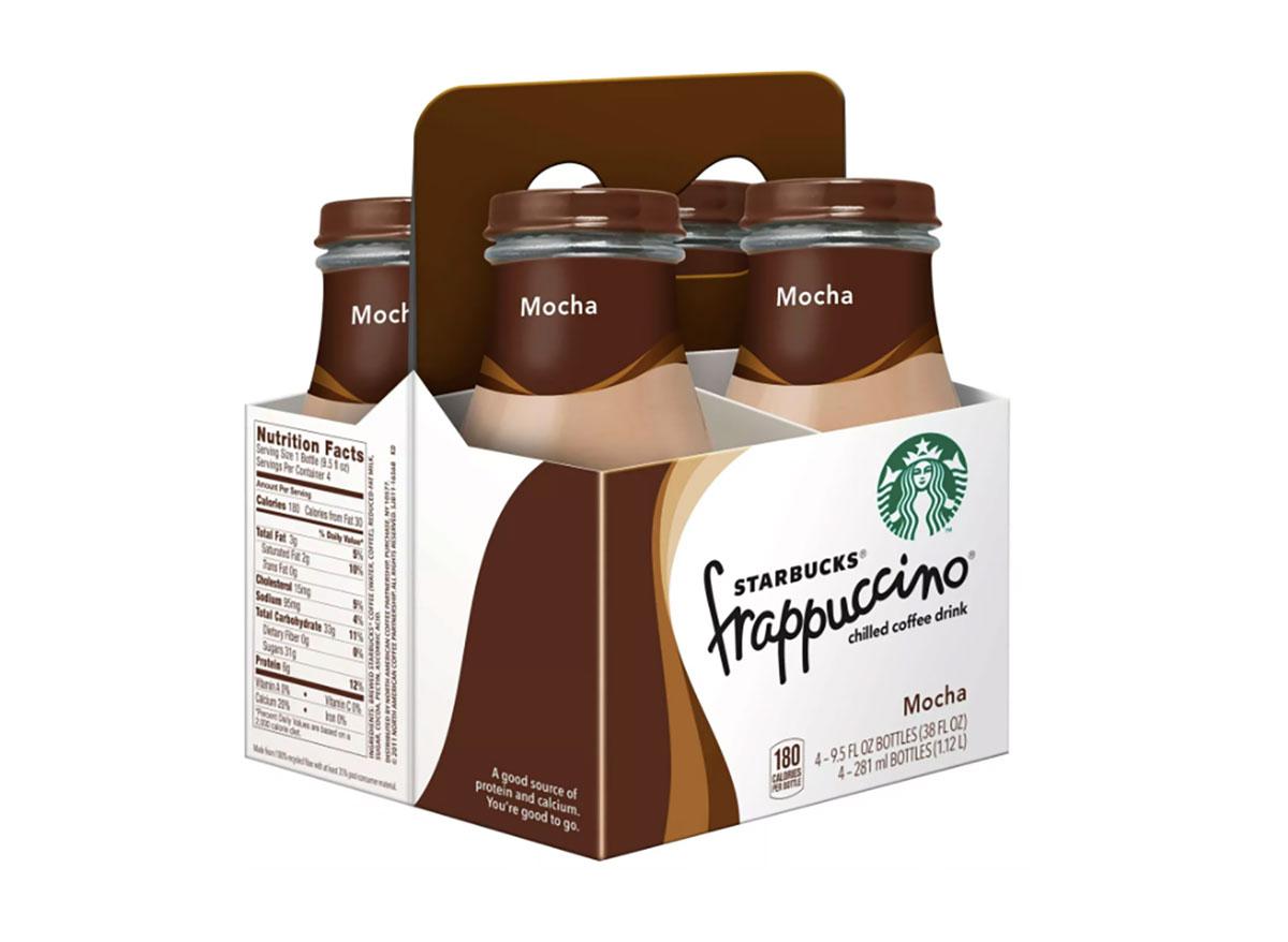 bottled starbucks frappuccinos