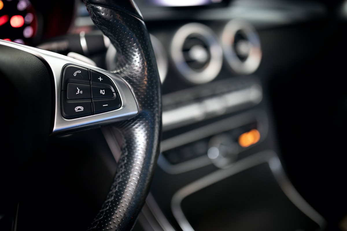 Car Steering wheel control buttons