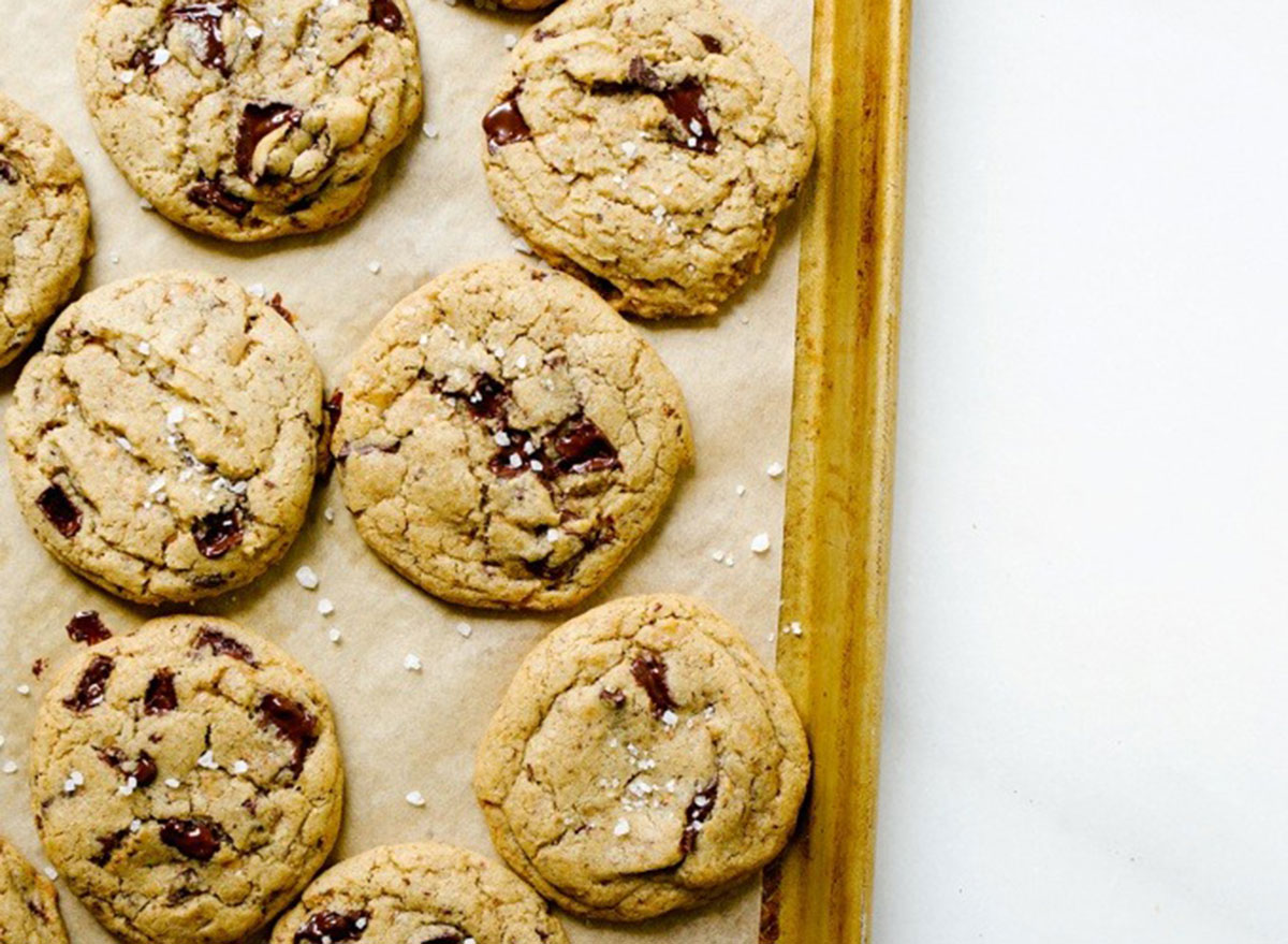 toffee espresso cookies