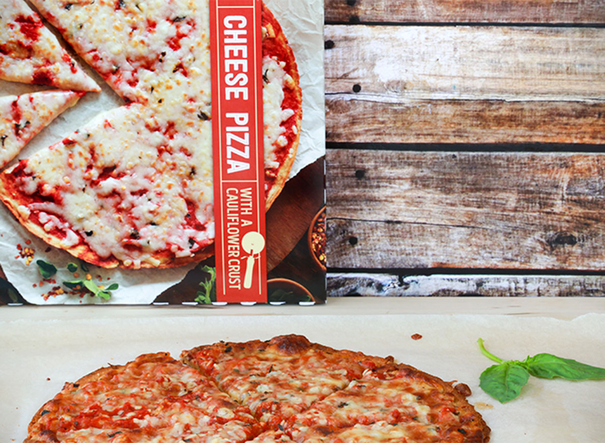trader joes cheese pizza