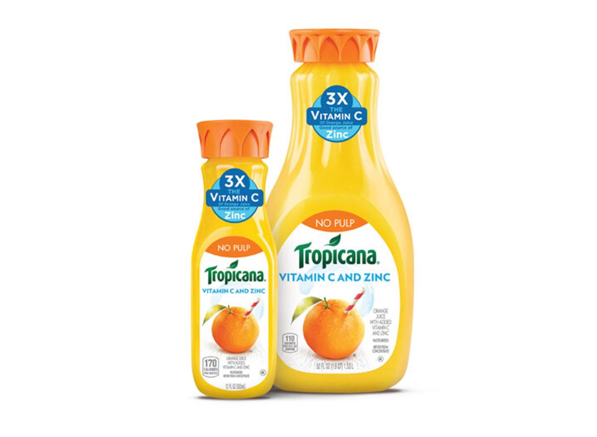 tropicana vitamin-c and zinc