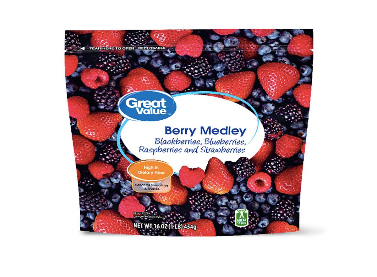 frozen berries from walmart