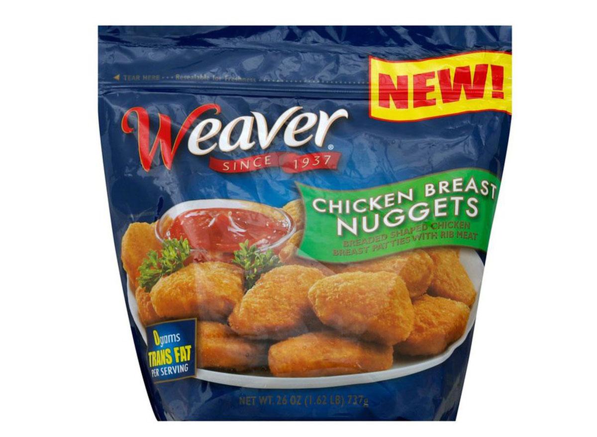 weaver chicken nuggets