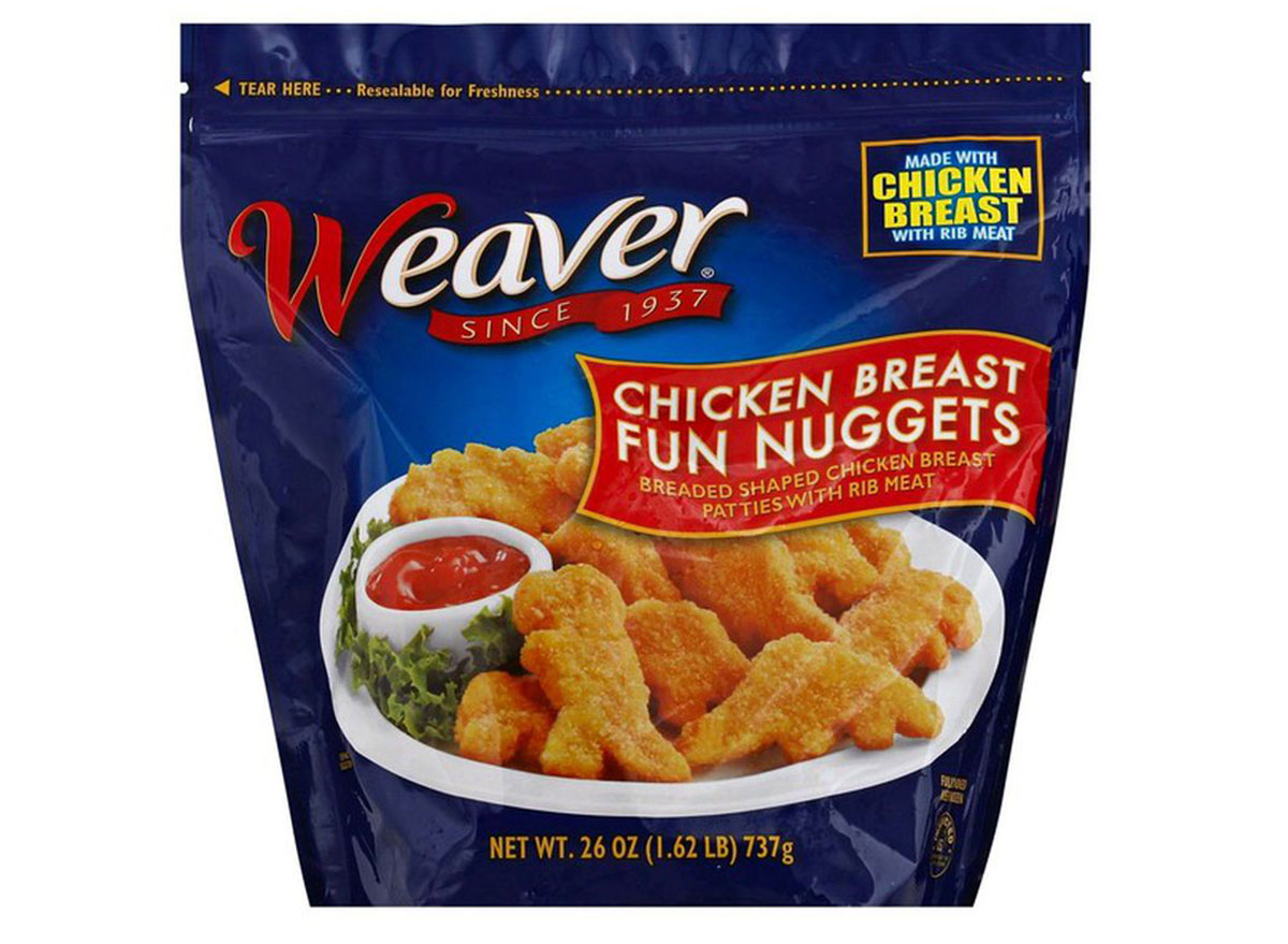 weaver fun chicken nuggets