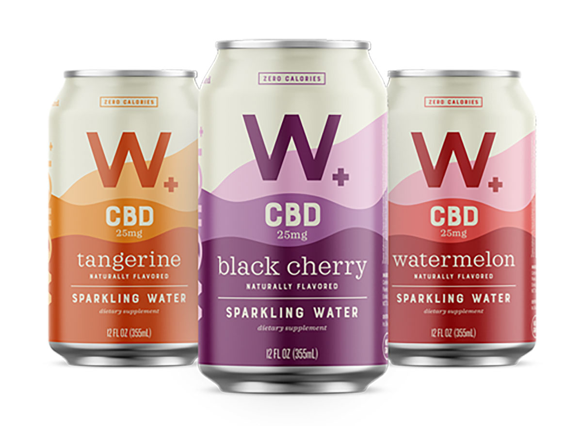 cans of weller cbd sparkling water