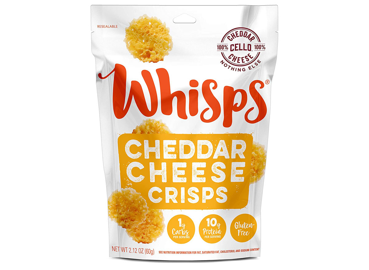 Whisps cheddar cheese