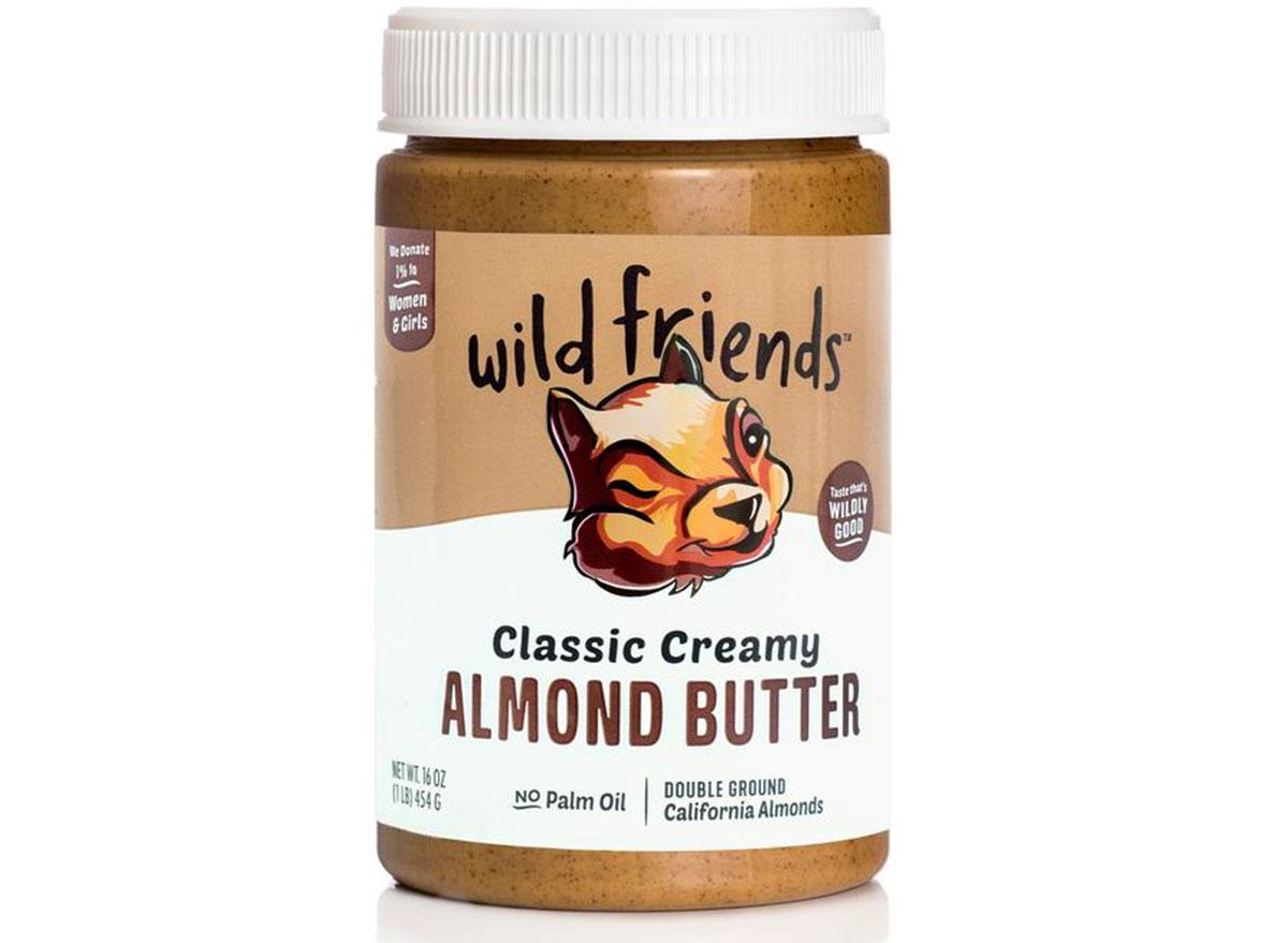 wild friends almond butter
