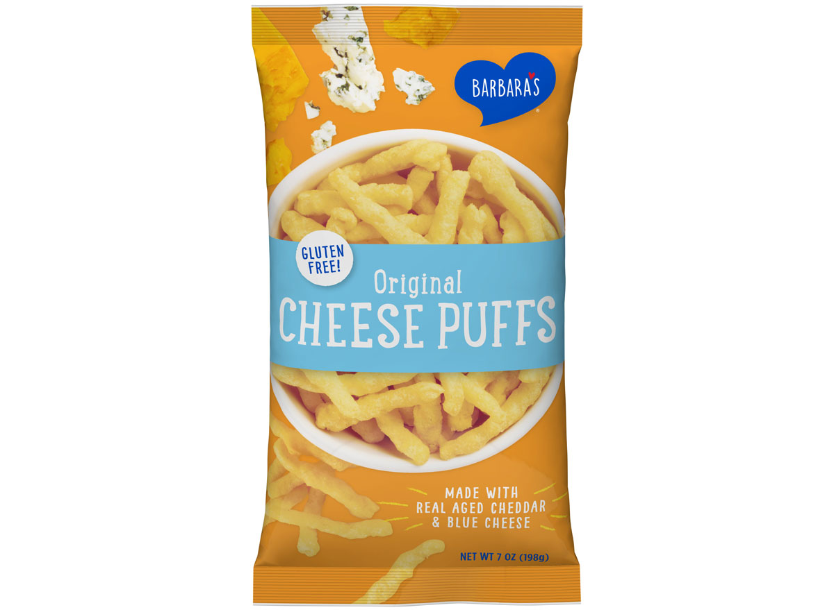 Barbara's original cheese puffs