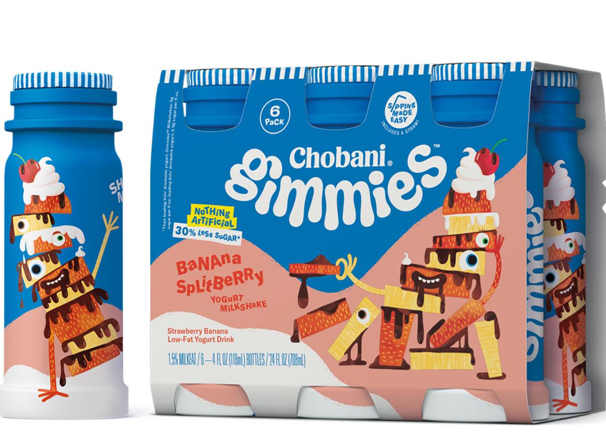 Chobani banana milkshake