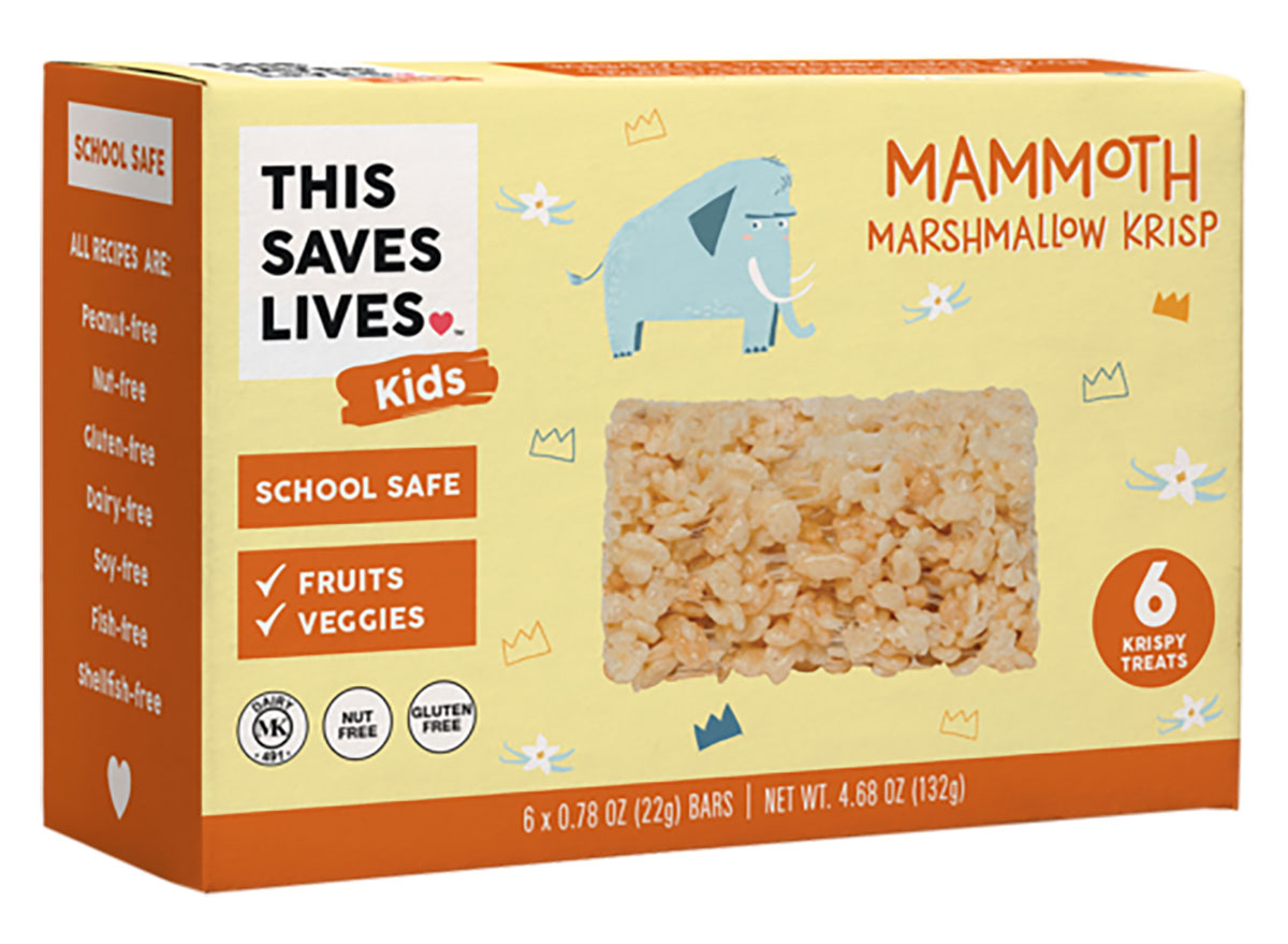 This saves lives marshmallow krisp