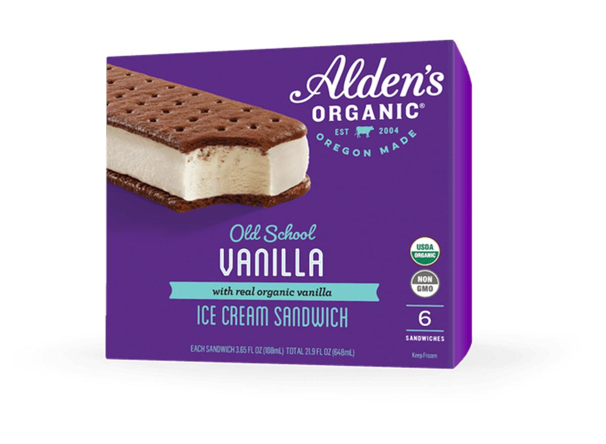 aldens ice cream sandwich