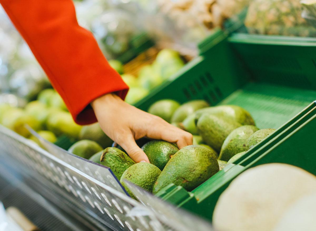 avocado shopping