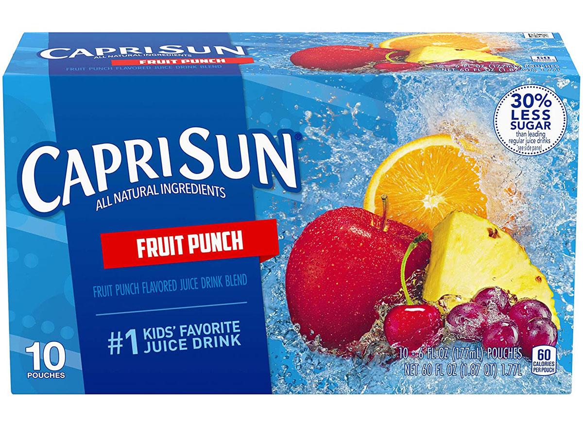 caprisun fruit punch