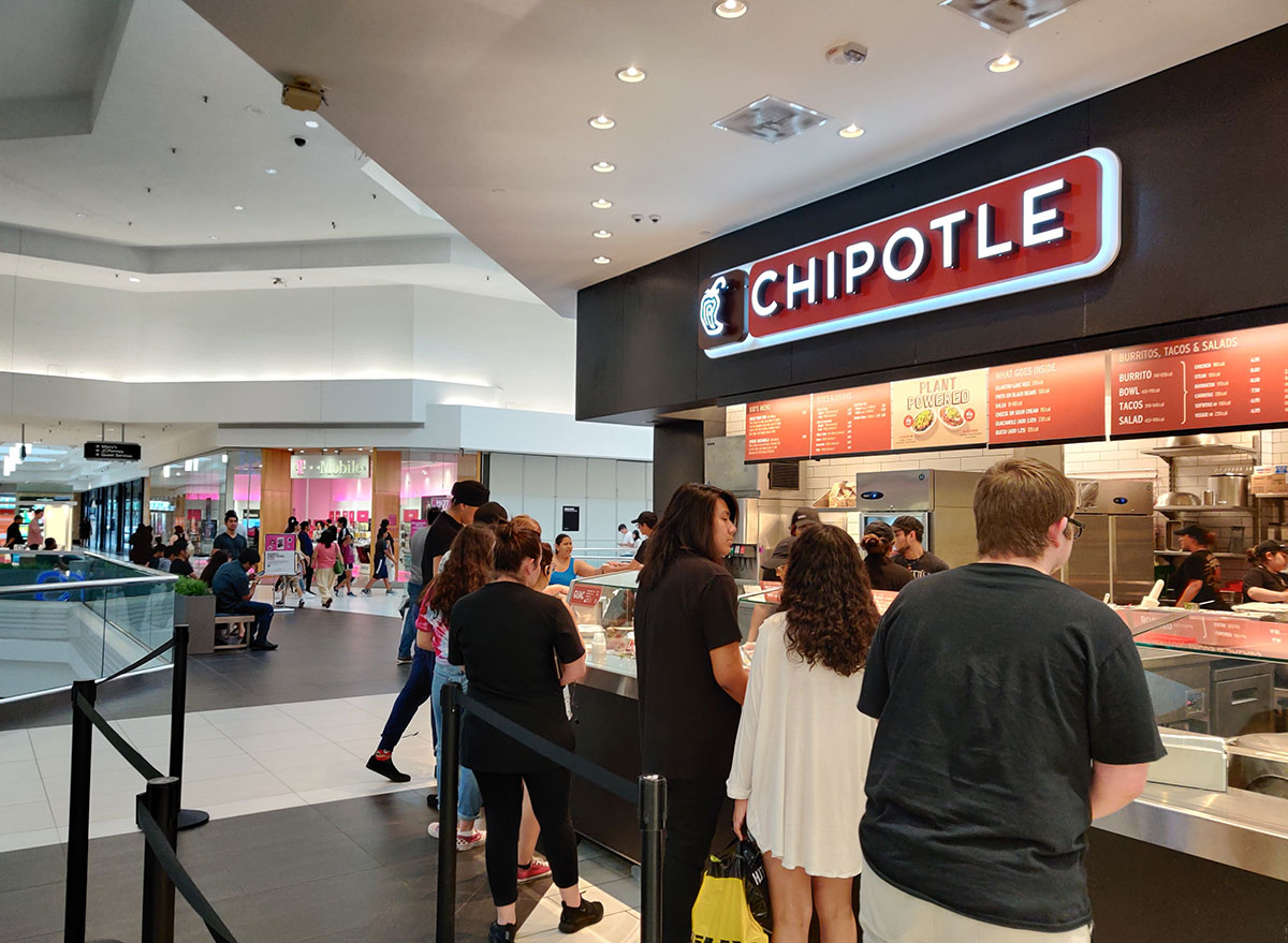 chipotle mall