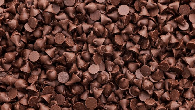 pile of chocolate chips