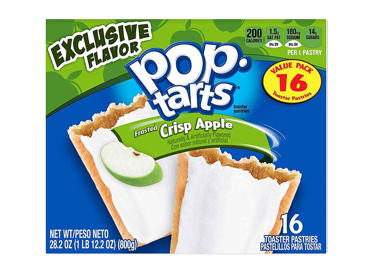 crisp apple pop tarts