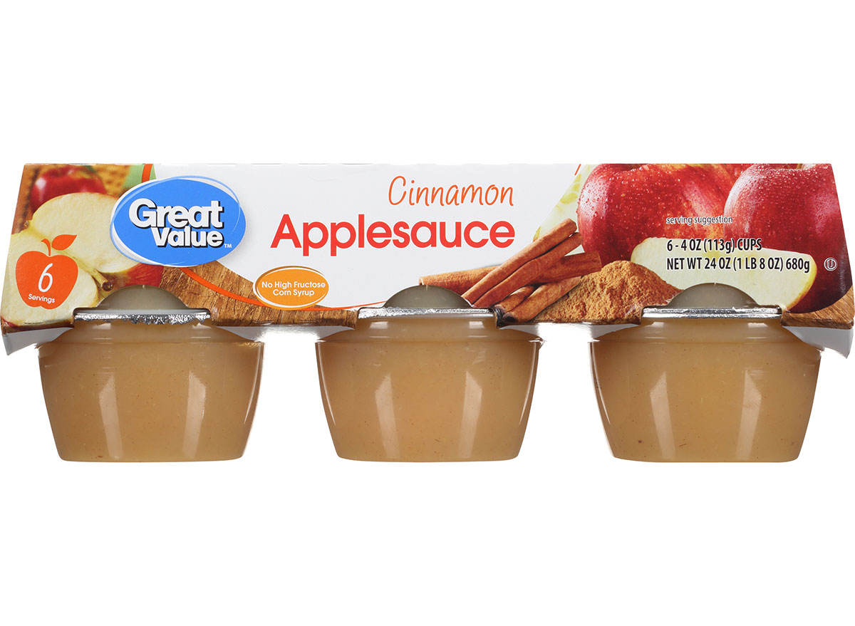 great value applesauce