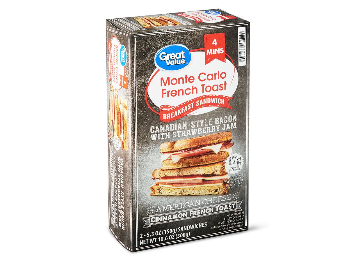 great value breakfast sandwich